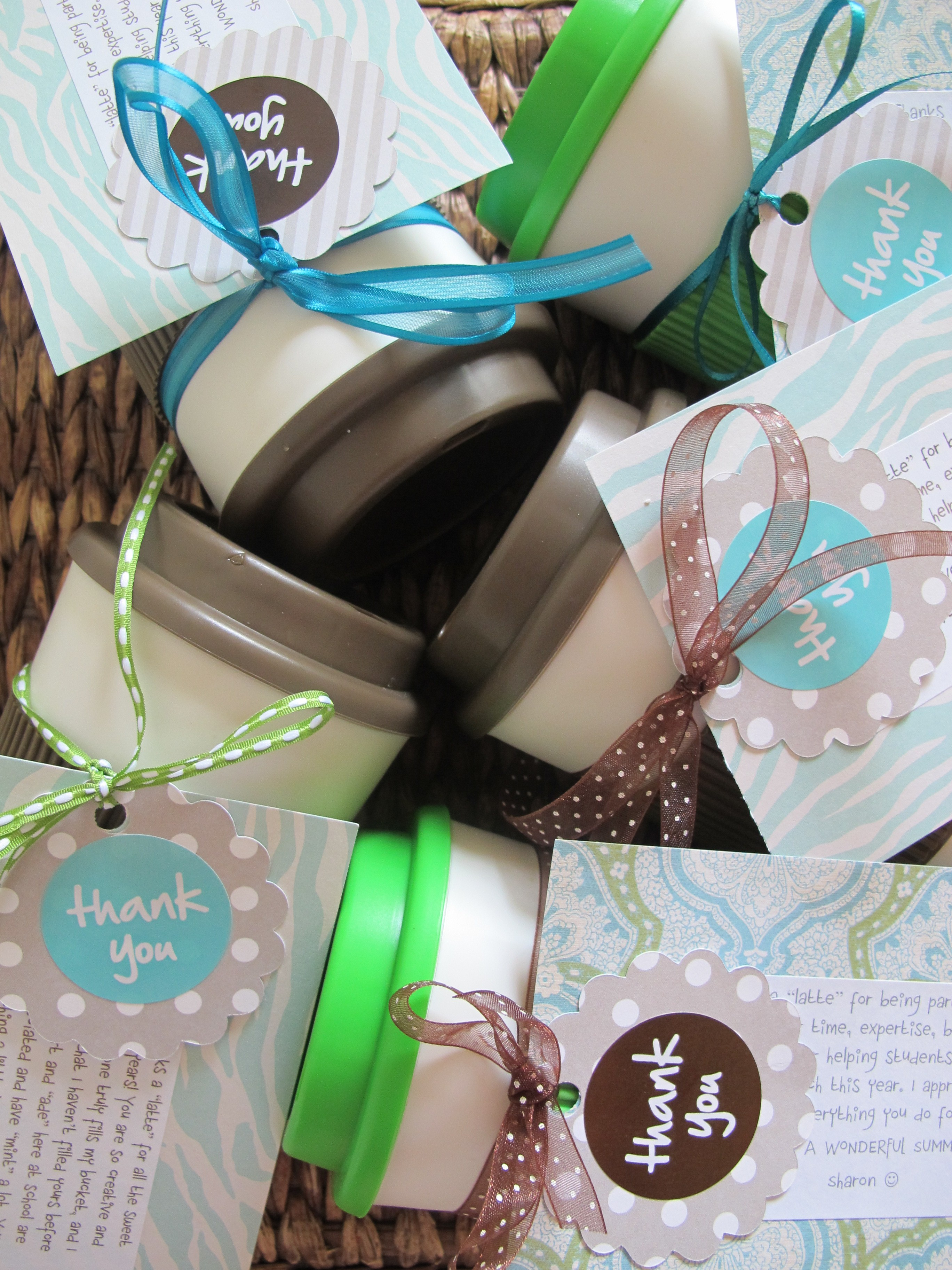 Homemade Thank You Gifts For Volunteers #18